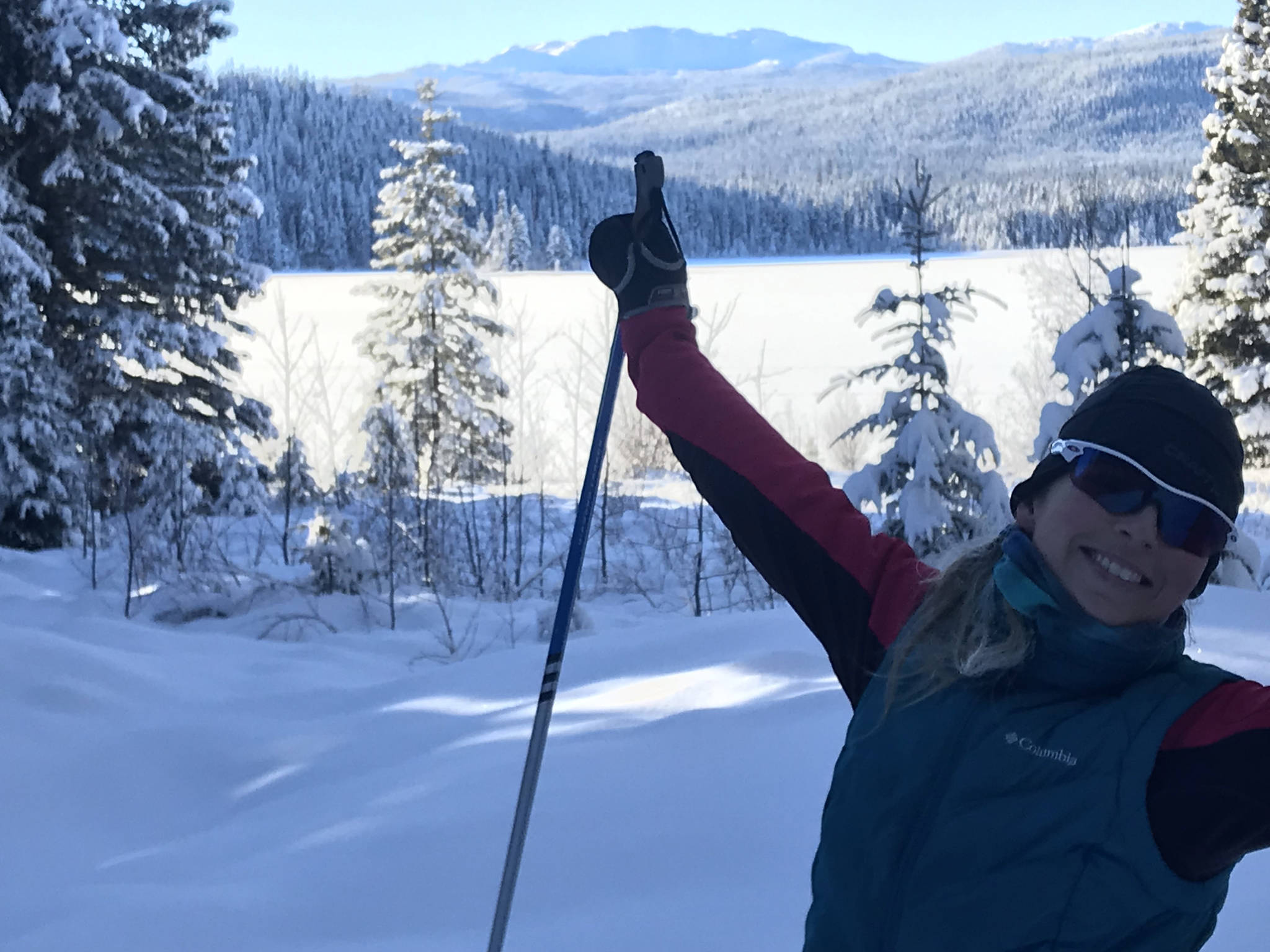 Cross country skiers enjoying new trails